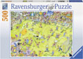 Ravensburger - At the Soccer Match Puzzle 500pc