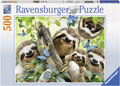 Ravensburger - Sloth Selfie Puzzle 500 pieces