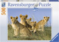 Ravensburger - Lion Babies Puzzle 500pc