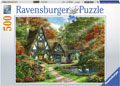 Ravensburger - Cottage in Autumn Puzzle 500 pieces