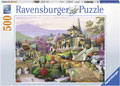 Ravensburger - Hillside Retreat Puzzle 500 pieces