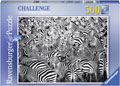 Ravensburger - Zebra Challenge Puzzle 500pc