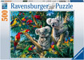 Rburg - Koalas in a Tree Puzzle 500pc