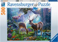 Ravensburger - Deer in the Wild Puzzle 500 pieces