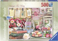Ravensburger - Vintage Tea Party Puzzle 500 pieces