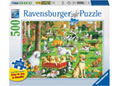 Ravensburger - At the Dog Park Lge Form Puz 500pc