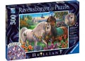 Ravensburger - Adorned Stallions Puz Brilliant 500pc