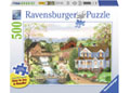 Ravensburger - Fishing Lesson Puzzle Large Format 500pc