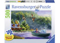 Ravensburger - Weekend Escape Puzzle Large Formatat 500p