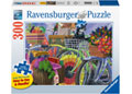 Ravensburger - Bicycle Group 300 pieces Large Format