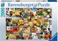 Ravensburger - Food Collage 2000 pieces