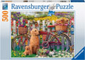 Ravensburger - Cute Dogs in the Garden 500 pieces