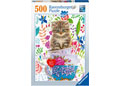 Ravensburger - Kitten in a Cup 500 pieces
