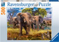 Ravensburger - Elephant Family 500 pieces