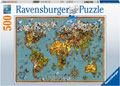 Ravensburger - World of Butterflies 500 pieces