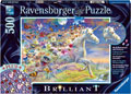 Ravensburger - Unicorn and Butterflies 500 pieces