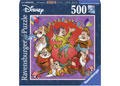 Ravensburger - Disney The Seven Dwarfs Puzzle 500pc Squar