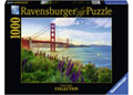 Ravensburger - Golden Gate Sunrise Puzzle 1000pc