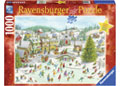 Rburg - Playful Christmas Day Puzzle 1000pc