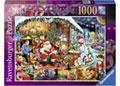 Rburg - Let's Visit Santa! Puzzle 1000pc