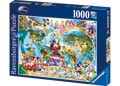 Disney World Map Puzzle 1000pc