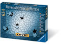 Ravensburger - KRYPT Silver Spiral Puzzle 654 pc