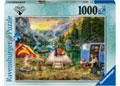 Rburg - Wanderlust Calm Campsite Puzzle 1000pc