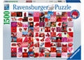 Rburg - 99 Beautiful Red Things Puzzle 1500pc