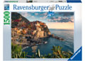 Ravensburger - Cinque Terre Viewpoint Puzzle 1500pc