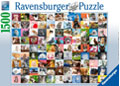 Ravensburger - 99 Cats Puzzle 1500 pieces