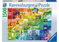 Ravensburger - 99 Colours Puzzle 1500pc