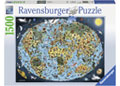 Ravensburger - Cartoon Earth Puzzle 1500pc
