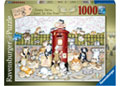 Ravensburger - Crazy Cats… Lots in the Post 1000 pieces