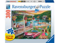 Ravensburger - Summer at the Lake 300 pieces Large Format