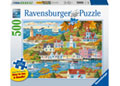 Ravensburger - By Land & Sea 500 pieces Large Format
