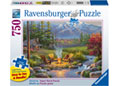 Ravensburger - Riverside Livingroom 750 pieces Large Format