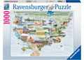 Ravensburger - From Sea to Shining Sea 1000 pieces