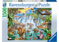 Ravensburger - Waterfall Safari 1500 pieces