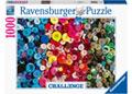 Ravensburger - Challenge Buttons Puzzle 1000pc