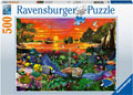 Ravensburger - Turtle in the Reef Puzzle 500pc
