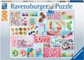 Ravensburger - Sweet Temptation Puzzle 500pc