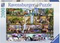 Ravensburger - Wild Kingdom Puzzle 2000pc