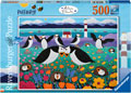 Ravensburger - Puffinry! Puzzle 500pc