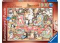 Ravensburger - Bingley's Bookclub Puzzle 1000pc