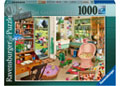 Ravensburger - My Haven No 8 The Gardeners Shed 1000pc