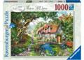 Ravensburger - Flower Hill Lane Puzzle 1000pc