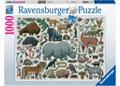 Ravensburger - You Wild Animal Puzzle 1000pc