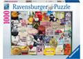 Ravensburger - Wine Labels Puzzle 1000pc