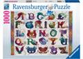 Ravensburger - Dragon Alphabet Puzzle 1000pc