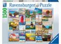 Ravensburger - Coastal Collage Puzzle 1500pc
